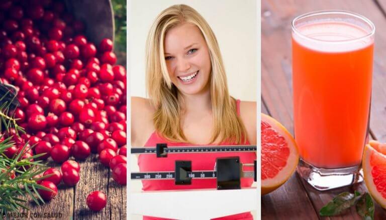 6 frukter som hjälper dig att gå ner i vikt lättare
