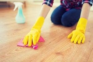 Håll golven rena