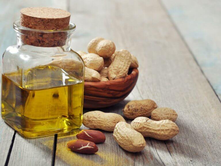Jordnötter har vitamin B3