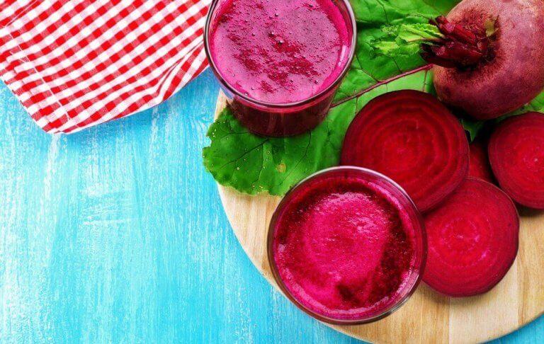 Juice på rödbetor