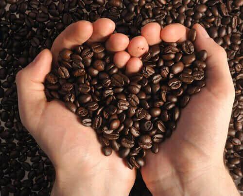Kaffesump har grov konsistens