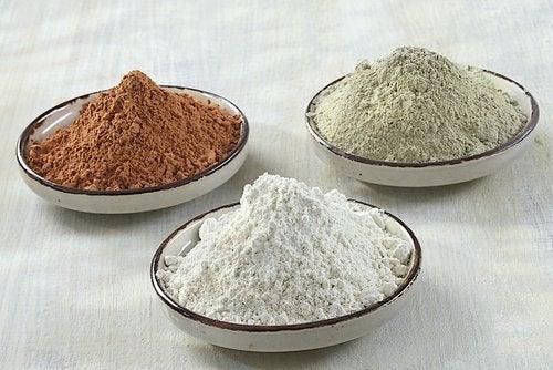 Kurer med lera