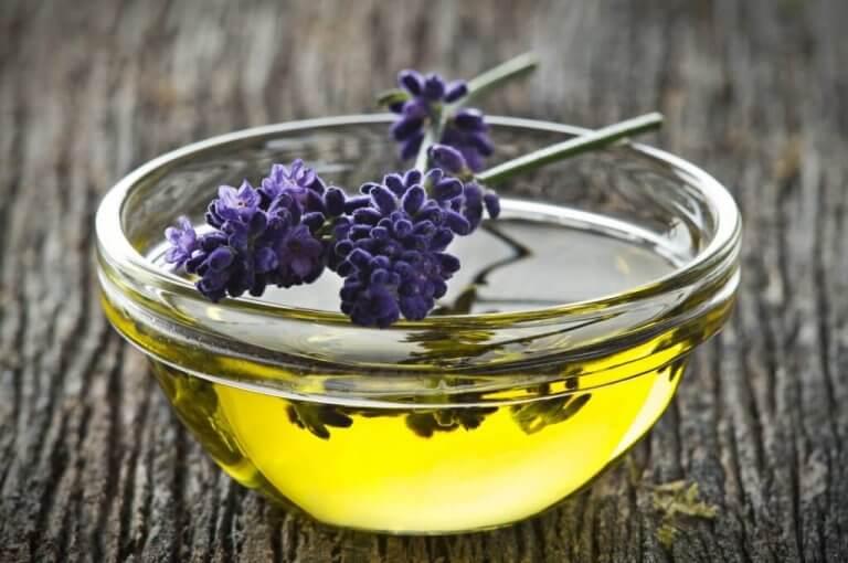 Olja från lavendel
