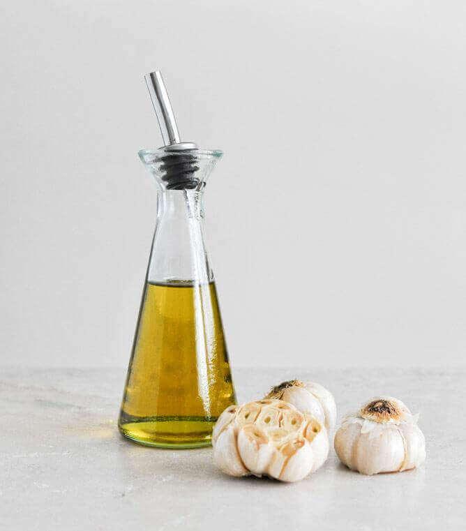 Olja från vitlök