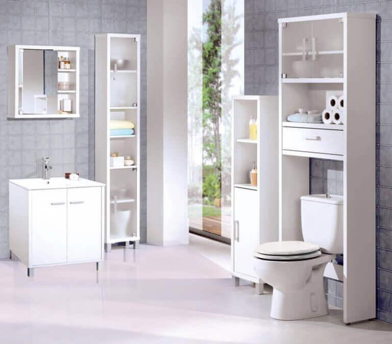 välorganiserat badrum