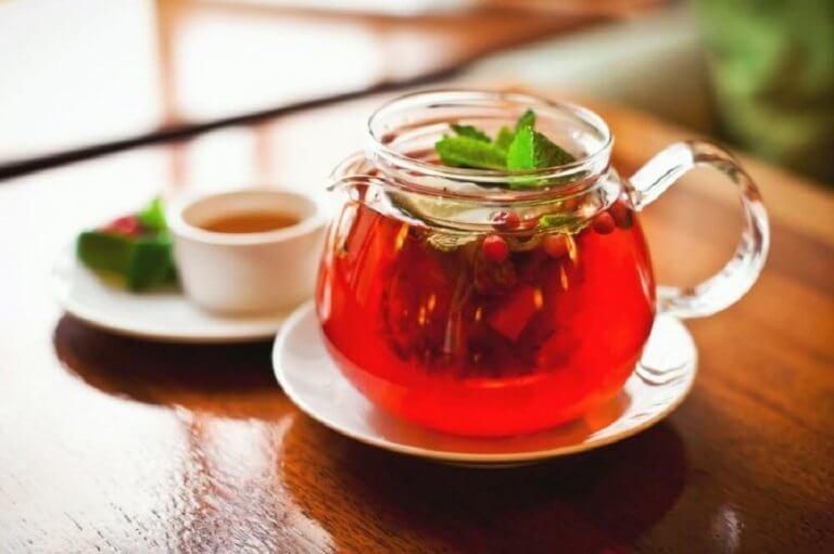 Te på sarsaparill