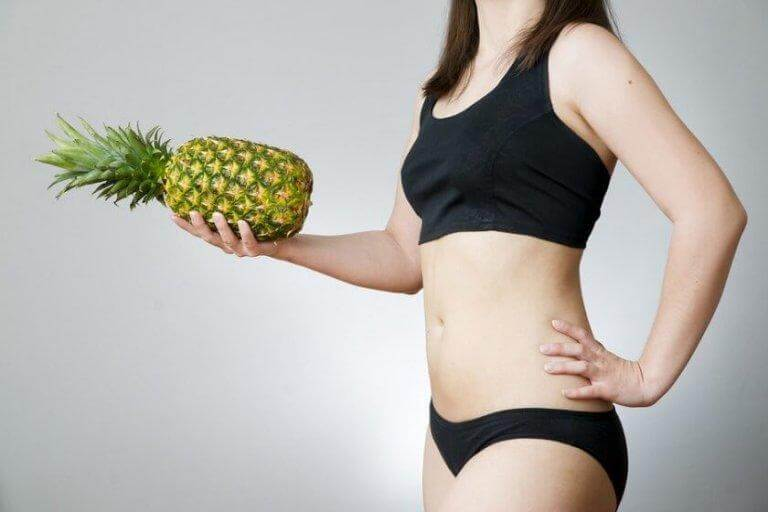Ananas hjälper dig att gå ner i vikt