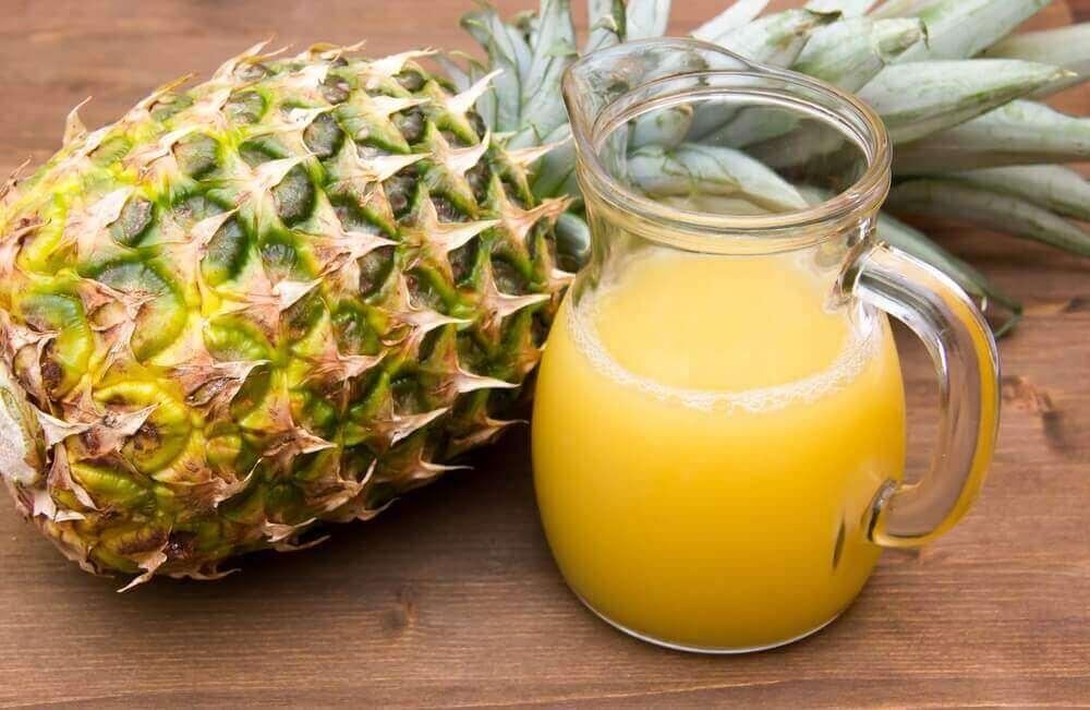 Ananas innehåller jod och är bra för sköldkörteln