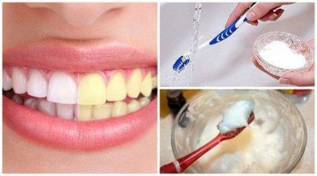 Det är enkelt att bleka tänderna med naturliga produkter