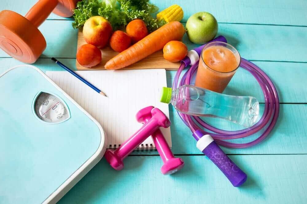 Dieter som ökar ämnesomsättningen och minskar vikten