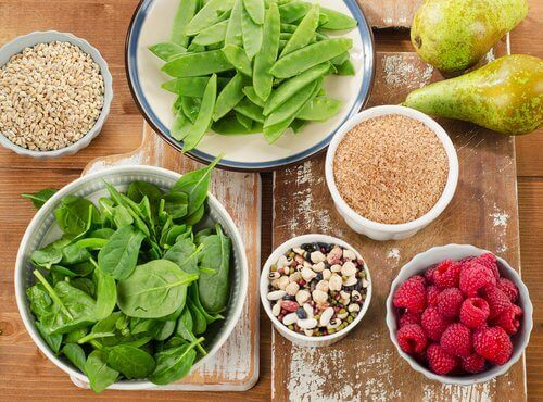 fiberrik mat kan förbättra humöret
