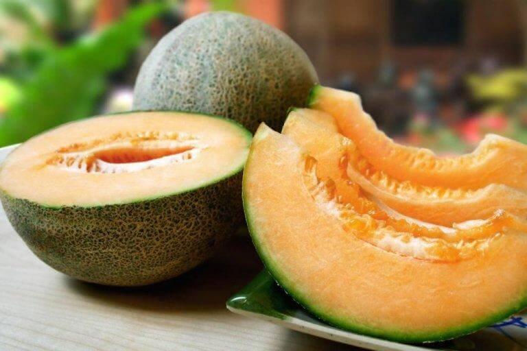 Huskurer med melon bekämpar fria radikaler
