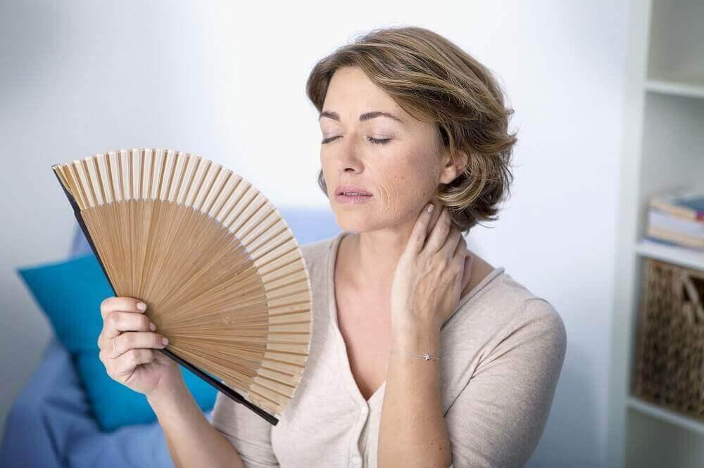 Klimakteriet kan komma i 40-50 årsåldern