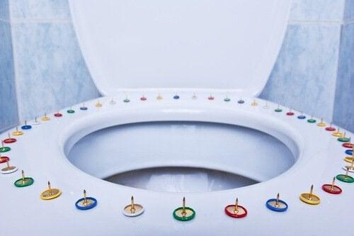 Häftstift-på-toalettring