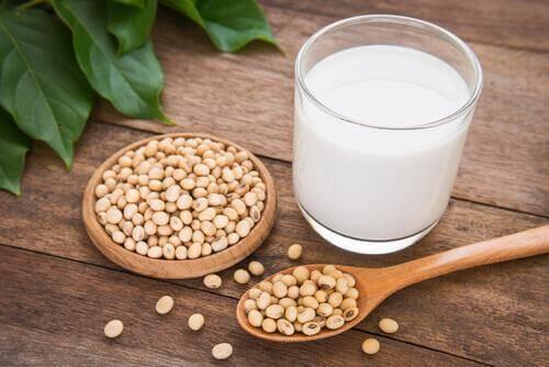 Sojamjölk till en 9-månadersbebis