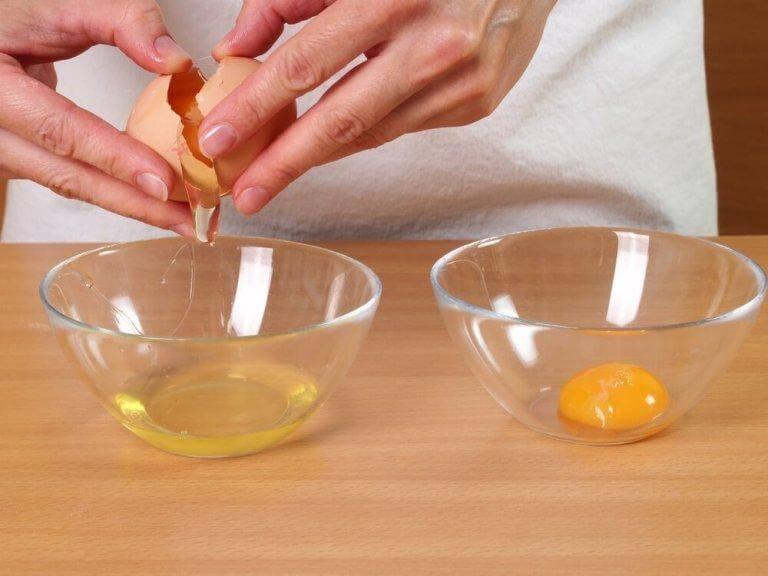 Behandla håret med äggvita