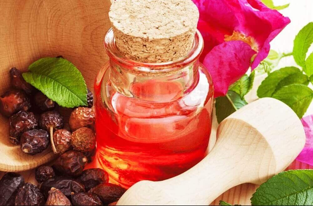 shiasmör och nyponrosolja