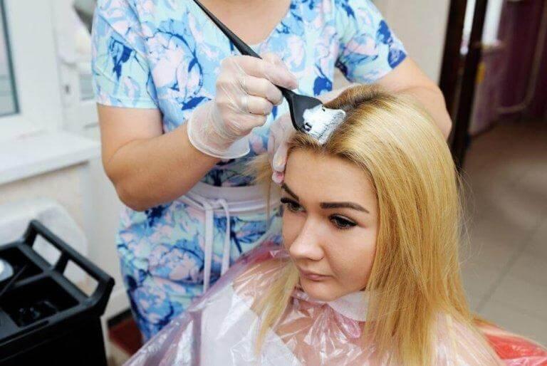 bleka håret skonsamt