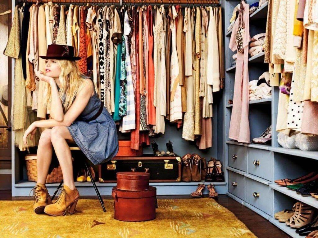 En organiserad garderob ger harmoni till hemmet
