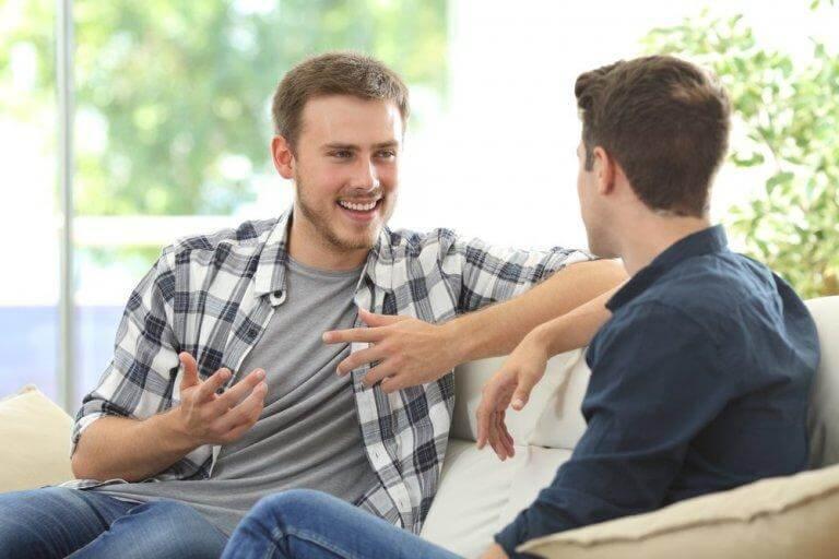 Öppna dig för någon som verkligen lyssnar