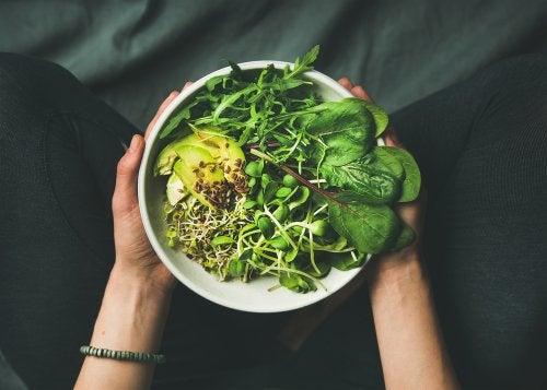 Grönsaksskål