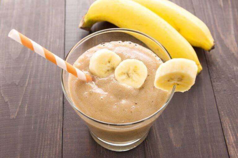 Kryddig banansmoothie