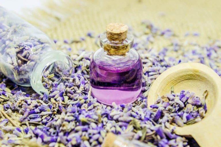 Lavendel är avslappnande