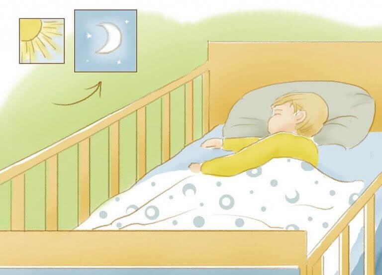 Hur du lär ditt barn sova på natten