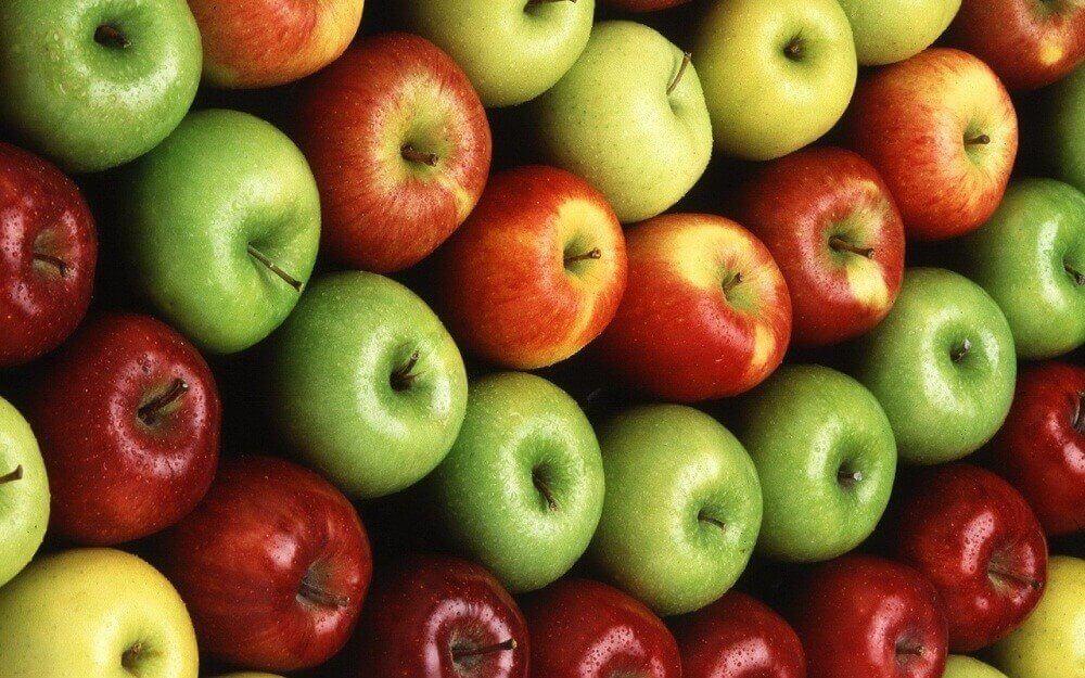 Äpplen är väldigt nyttiga