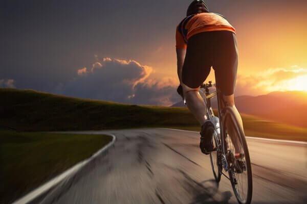 Cykling är bra för hjärtat