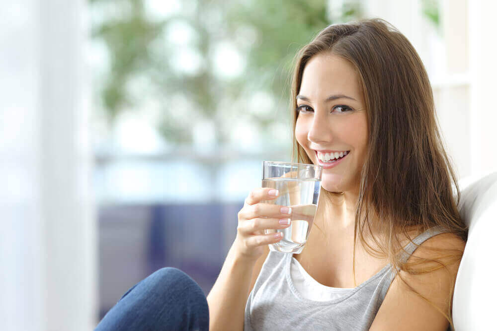 Drick gott om vatten