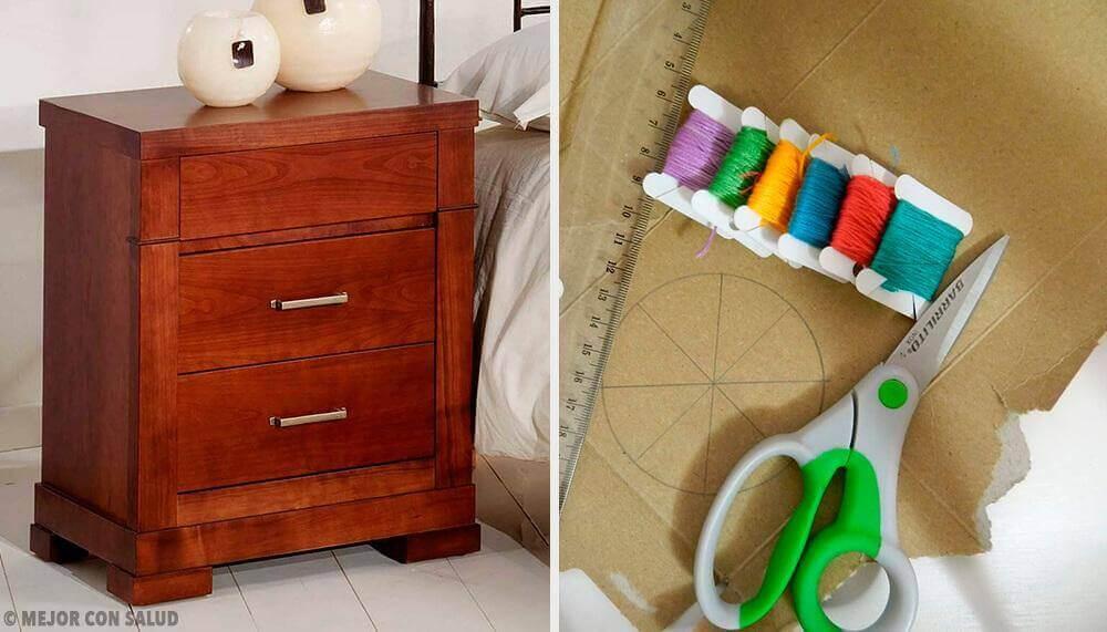 5 väldigt originella nattduksbord för sovrummet