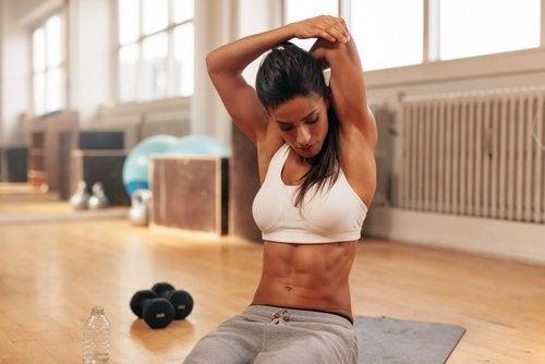 Övningar med vikter