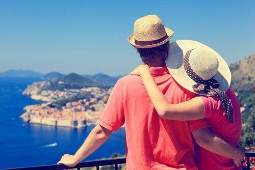 Par på semester