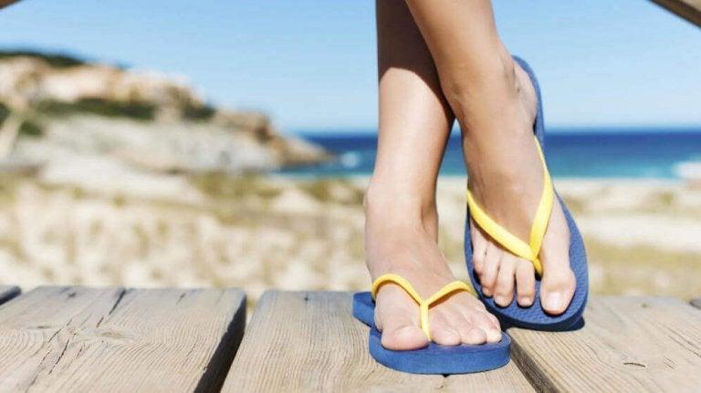 Möjliga fotproblem som kan uppstå av flip-flops