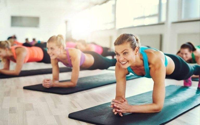 Prova plankan för en perfekt mage