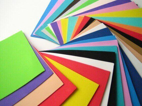 Dekorgummi i olika färger