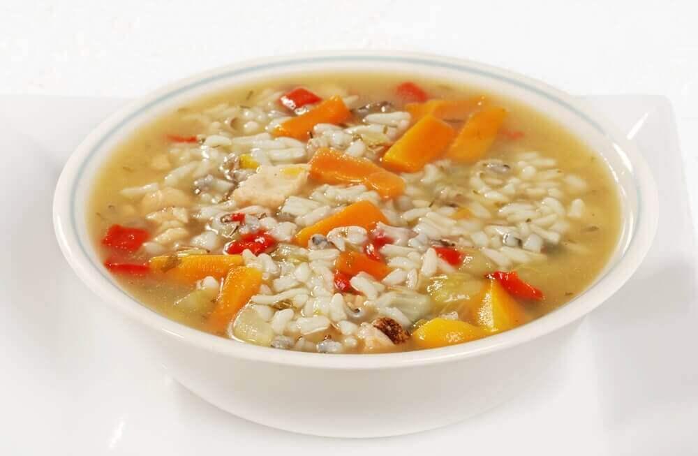 soppa bra för magen
