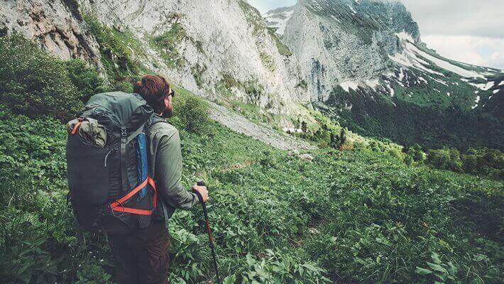 Vandring i naturen
