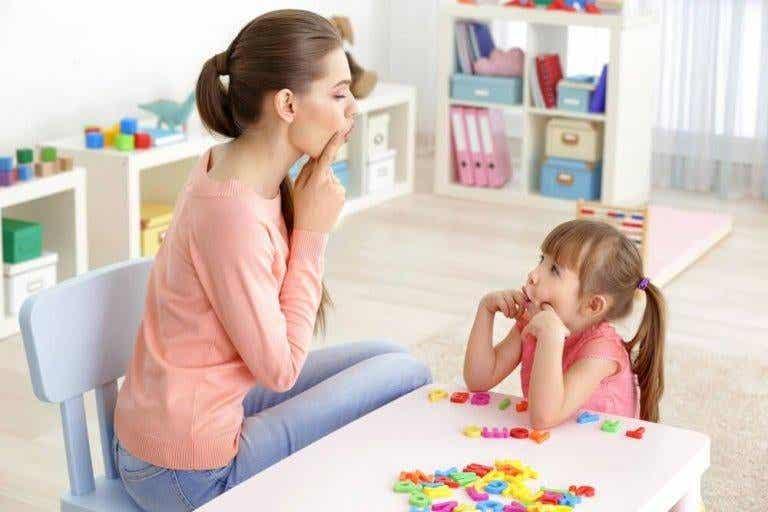 6 övningar för barn med talproblem