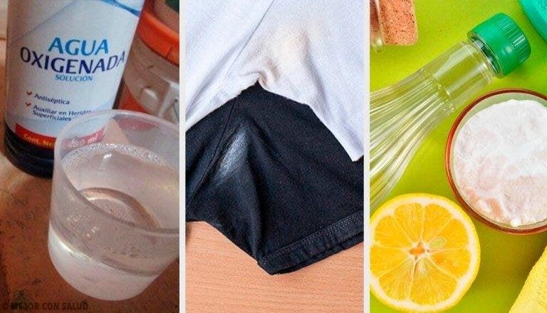 Så får du bort deodorantfläckar från kläderna