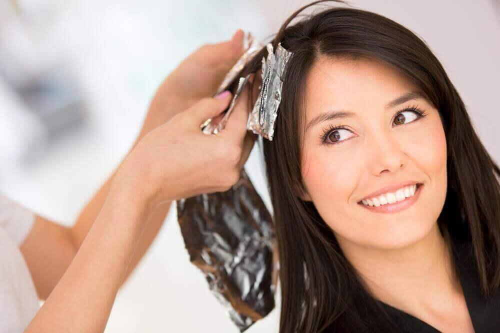 få bort permanent hårfärg