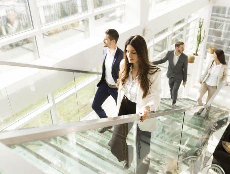 Att gå i trappor är en av de träningsformer som förbättrar livskvaliteten