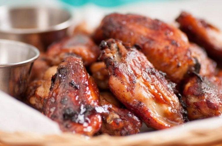 Ett läckert recept på kycklingvingar