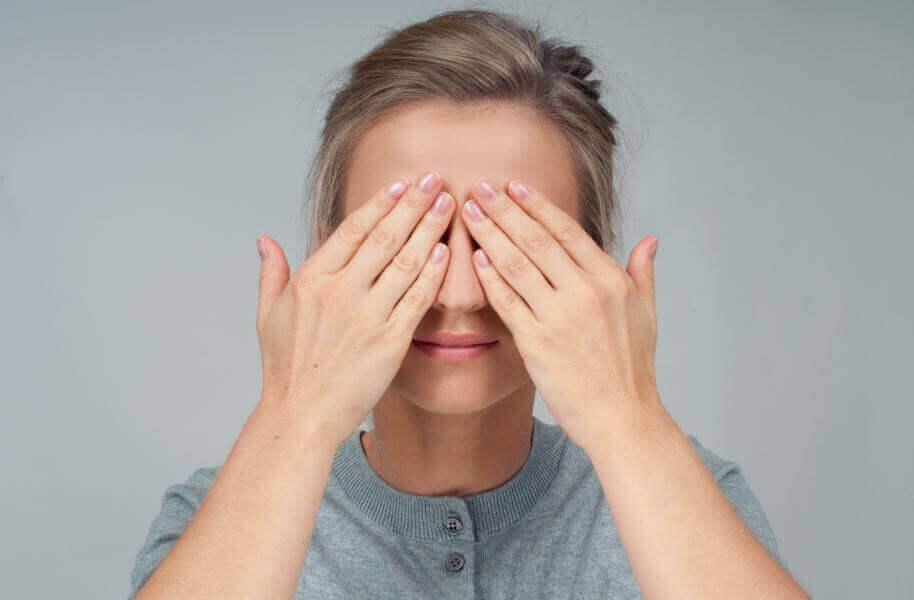 torra ögon stress