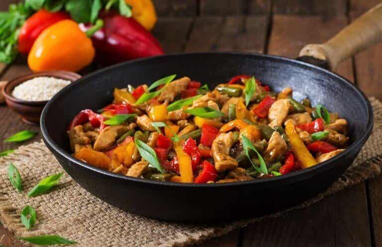 Läckert recept med kyckling och grönsaker