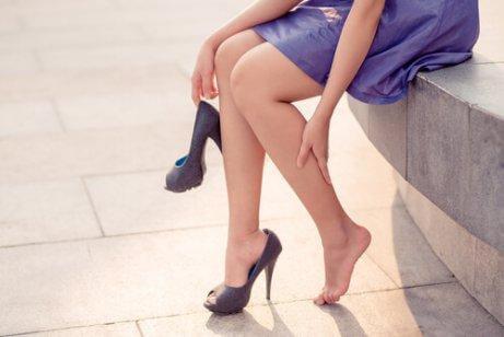 Åderbråck bildas oftast på benen