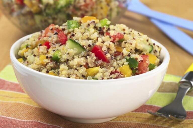 Tre underbara sallader med quinoa