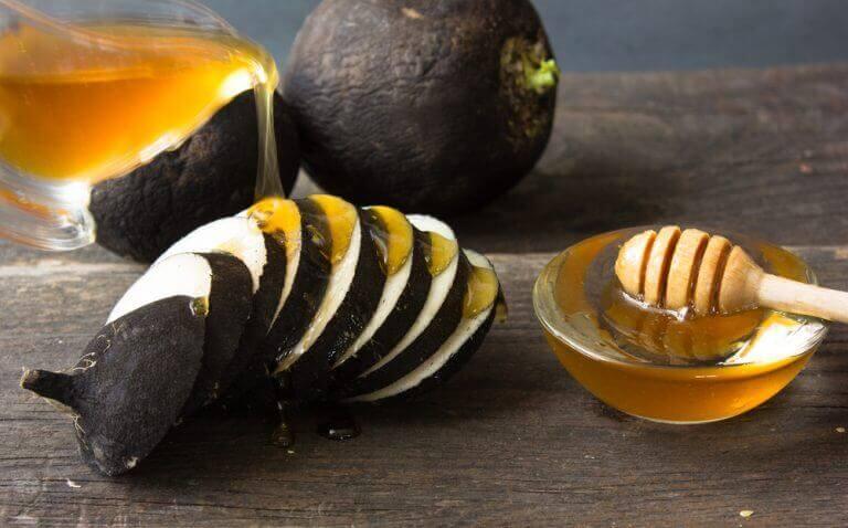 Rädisor med honung på