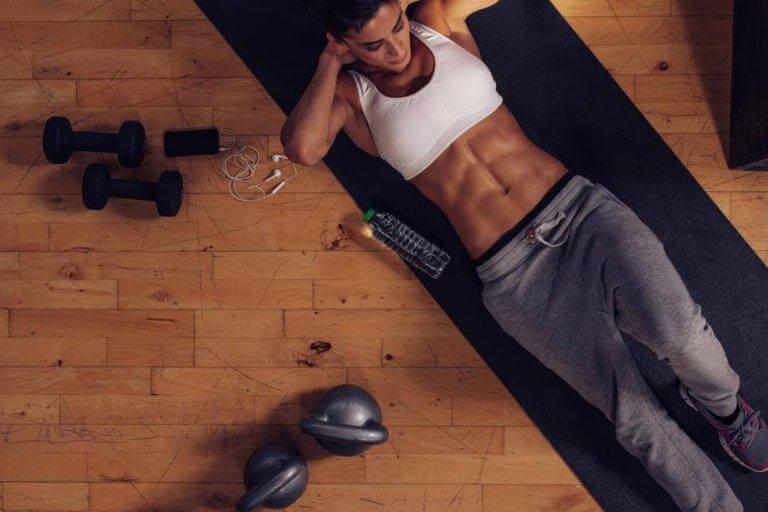 Träna magen och bli stark